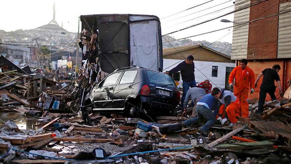 """Chile en riesgo; determinan donde se producirá el próximo """"terremoto del siglo"""""""