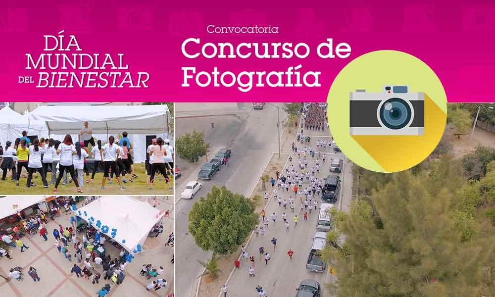 """Convocan a concurso de fotografía """"Día Mundial del Bienestar"""" en Tecate"""