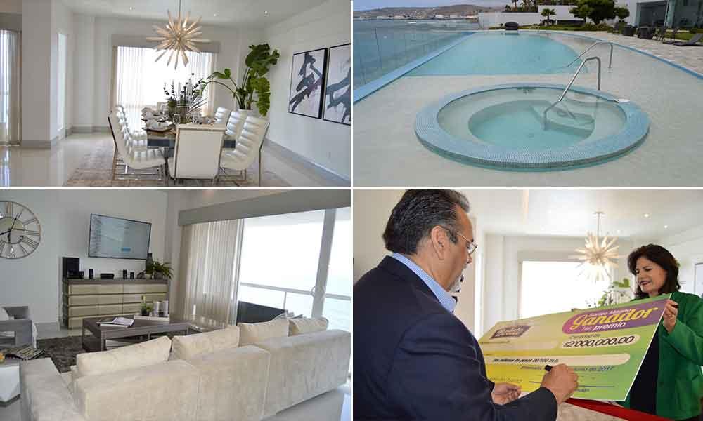 Presentan Condominio de lujo del 80 Sorteo de la UABC