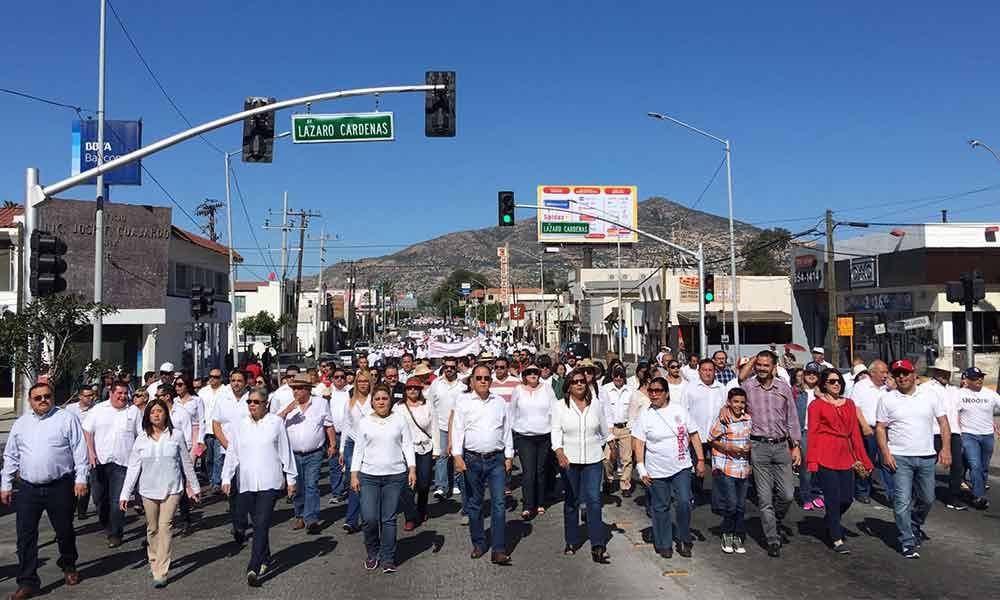 Conmemoran en Tecate el Día del Trabajo