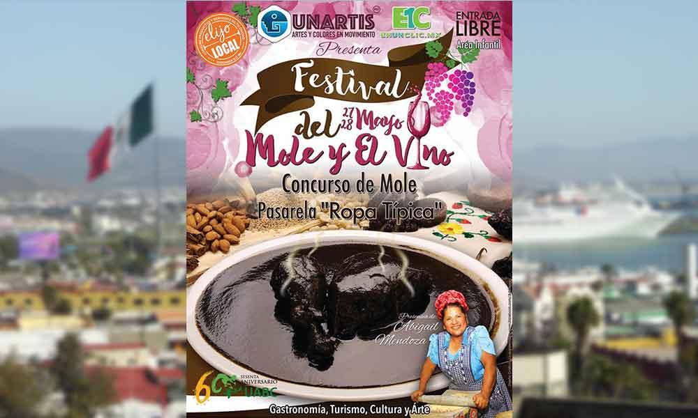 Festival del Mole y el Vino este próximo 27 y 28 de mayo en Ensenada