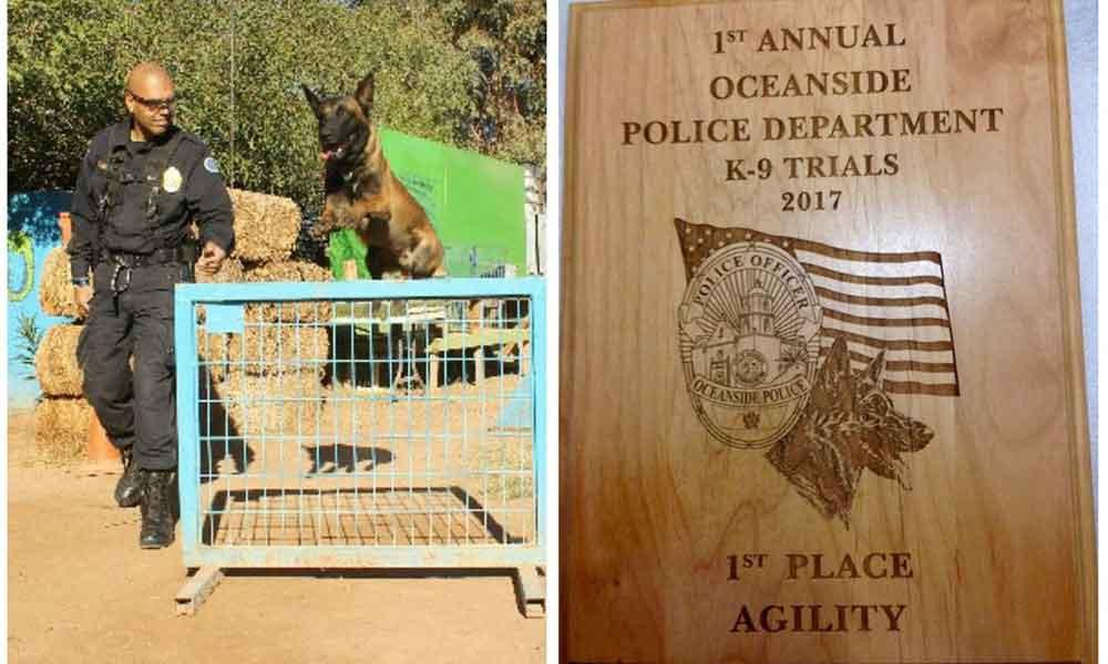 Ganan caninos K9 de la PEP competencia internacional en EU