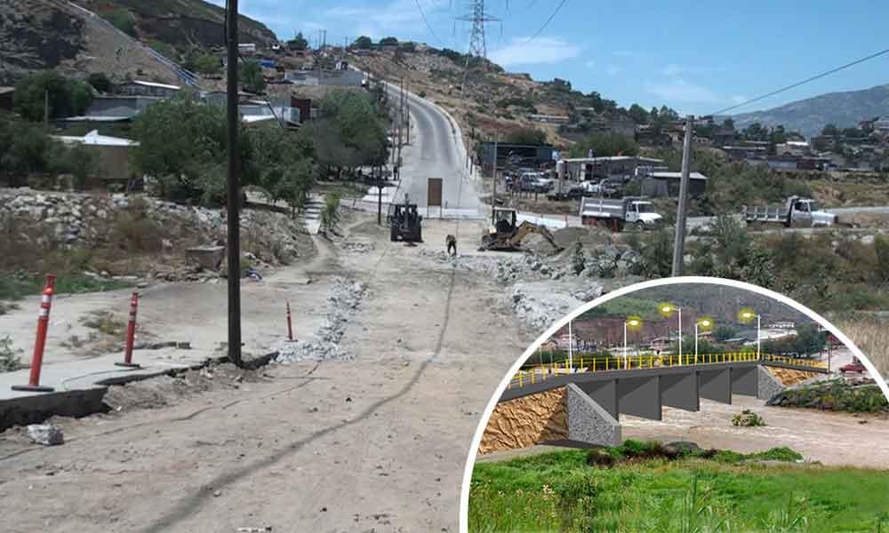 Entre puentes y pavimentación, SIDUE invertirá 87 millones en Tecate