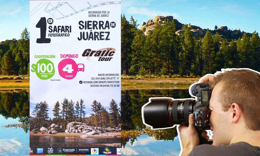 1er. Safari Fotográfico en Sierra de Juárez, ¿Quieres participar?