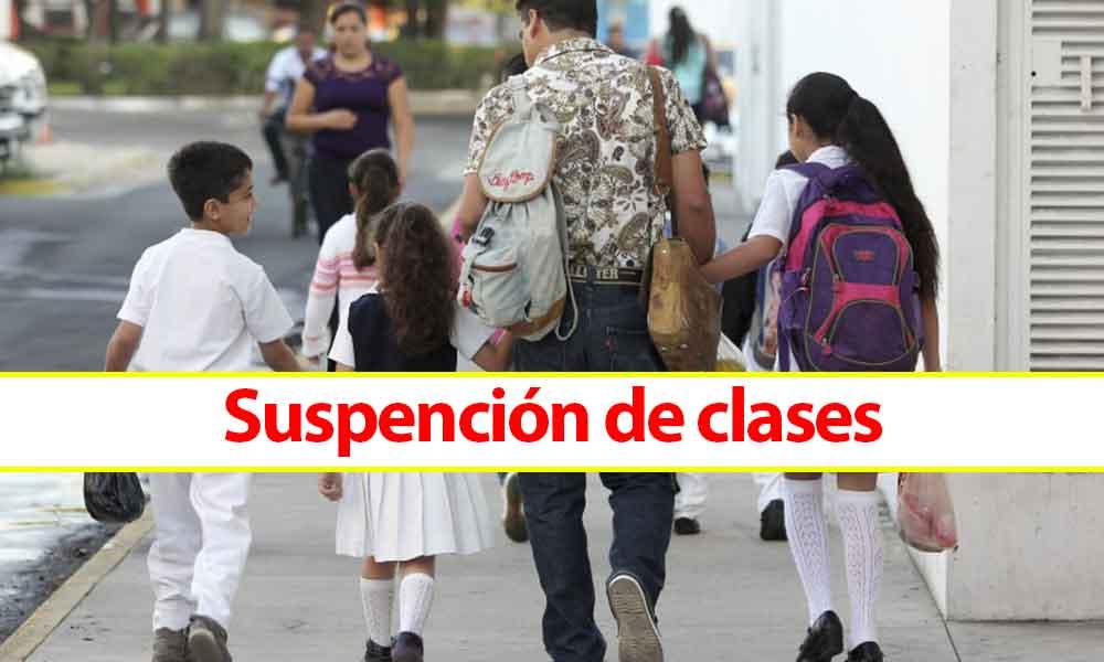 Suspenden clases en Mexicali, su Valle, San Felipe y Sur de Ensenada este lunes 01 de octubre