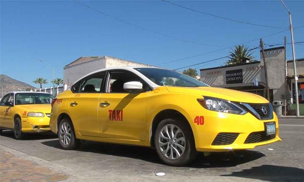 Taxis Amarillos en Tecate adquieren nuevas unidades 2017
