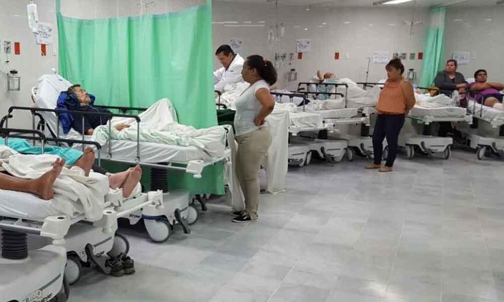 Sólo urgencias y hospitalización en el IMSS mañana 10 de mayo