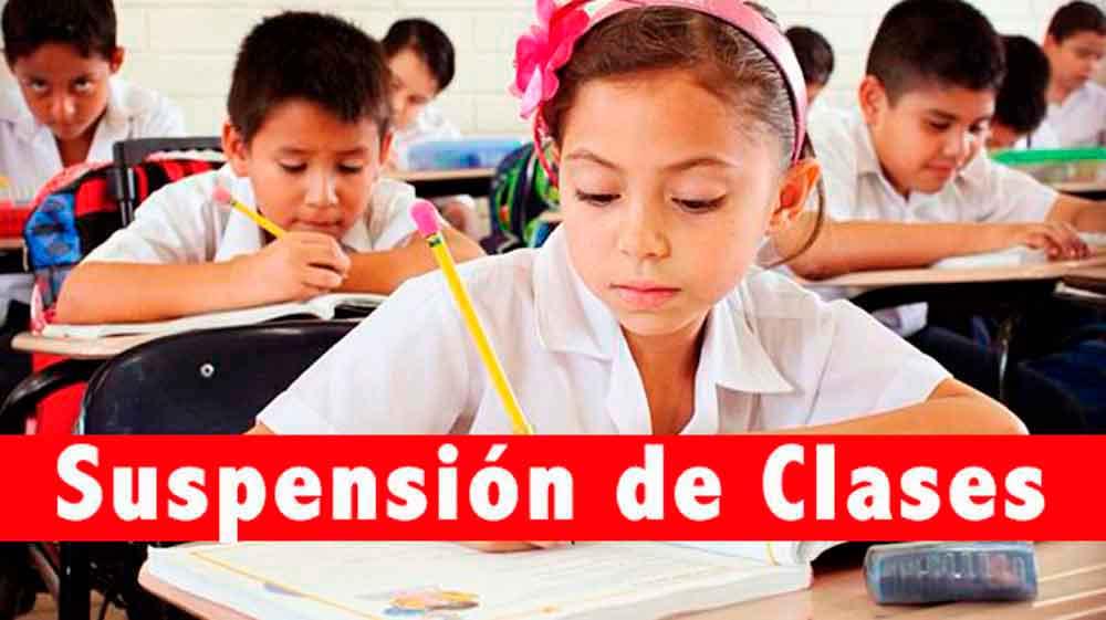 Martes y jueves habrá suspensión de clases en Baja California
