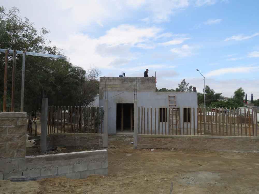 Centro convivencia familiar registra importantes avances en su construcción; el primero en BC