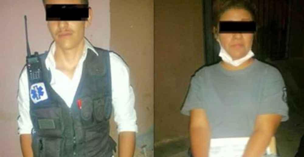 Detienen a paramédicos por robar cartera de ejecutado en Juárez
