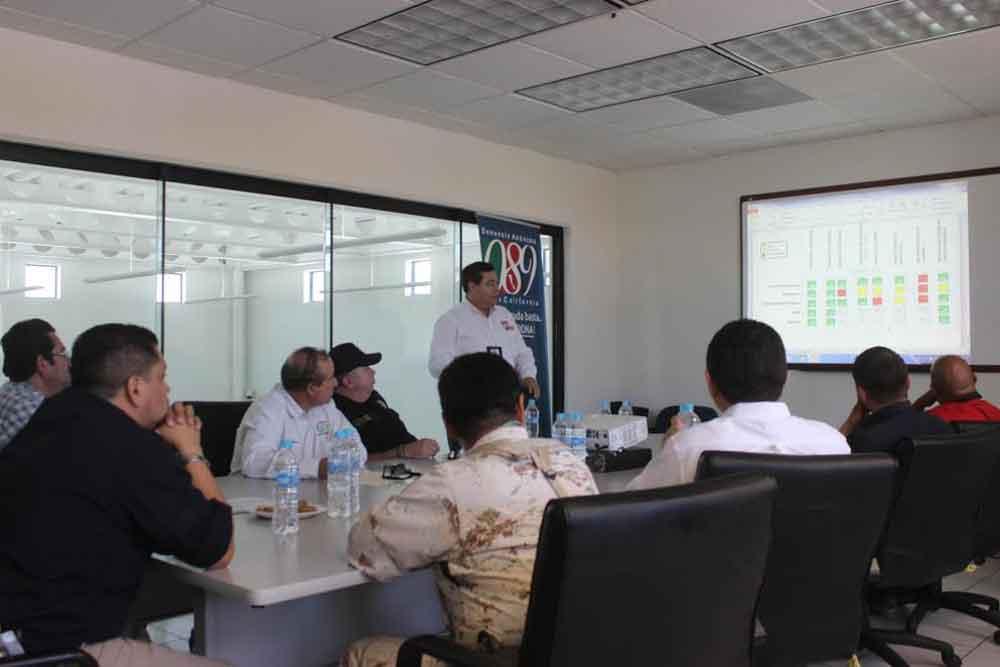 Comité valuador analiza estadísticas y tiempos de respuesta en el C4