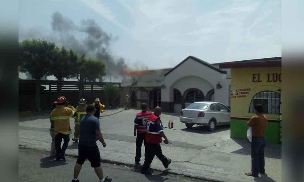 Se registra incendio en Panadería El Buen Pan de Tecate