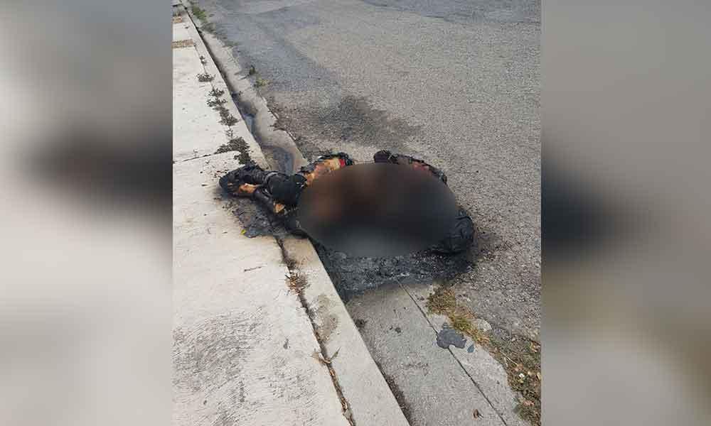 Localizan a mujer calcinada en Tijuana