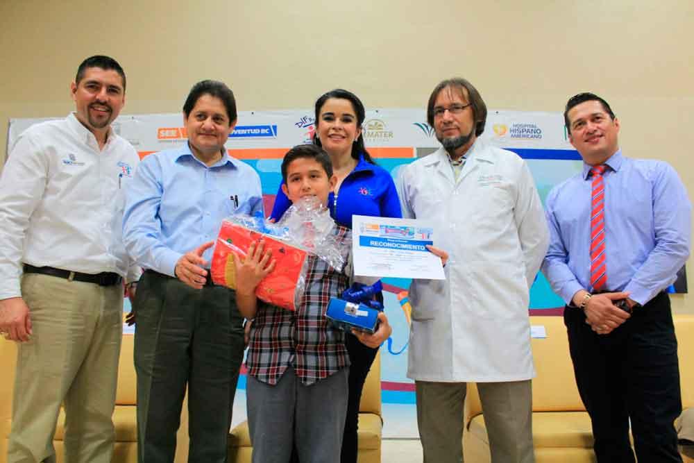 Encabeza Presidenta de DIF BC premiación de concurso estatal de dibujo infantil y juvenil