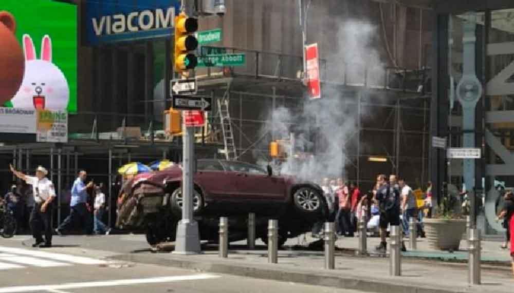 Nuevos videos del atropello en Nueva York