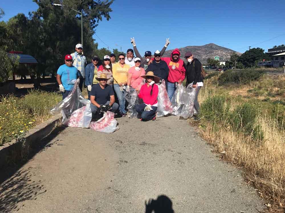 Ayuntamiento se suma a la limpieza del río en el marco del Día Mundial   del Medio Ambiente