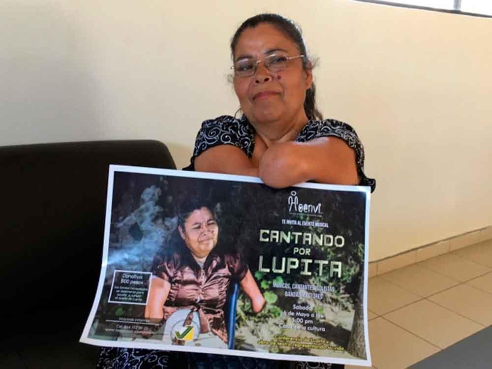 """""""Cantando por Lupita""""; el movimiento estudiantil a beneficio de una mamá de Tijuana"""
