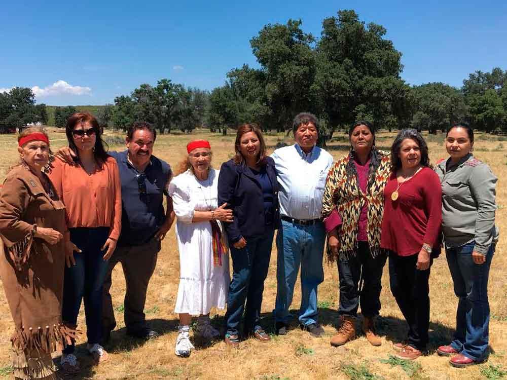 Visitaron el rancho Lagunitas donde se llevará a cabo décima novena edición de la Danza de la Madre Tierra