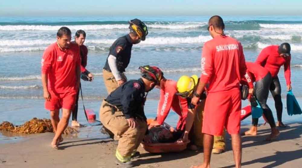 Localizan cadáver en playa de Ensenada
