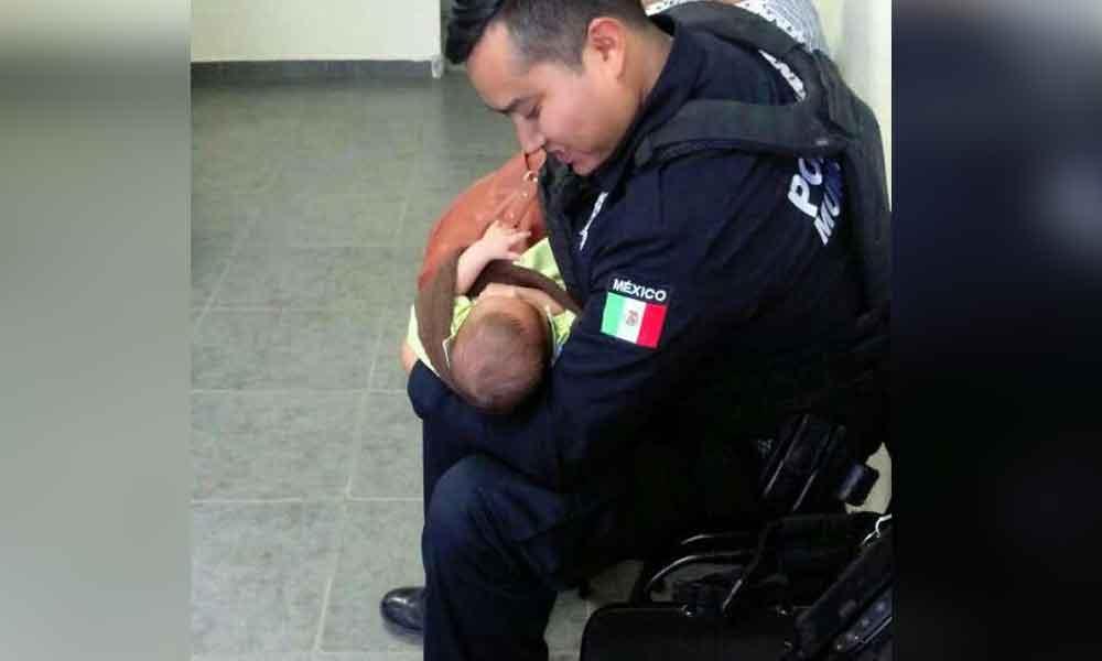 Rescatan a bebé en Tijuana; su madre lo había regalado
