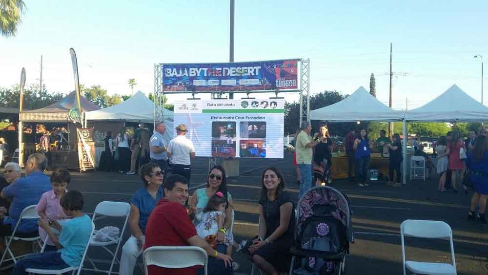 "Presentaron la Ruta del Viento en ""Baja By The Desert"" en Tucson Arizona"