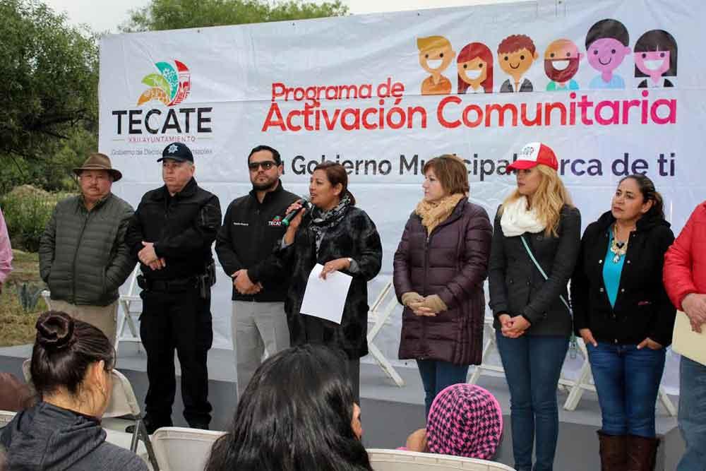 Anuncian obras para la zona del Rincón Tecate