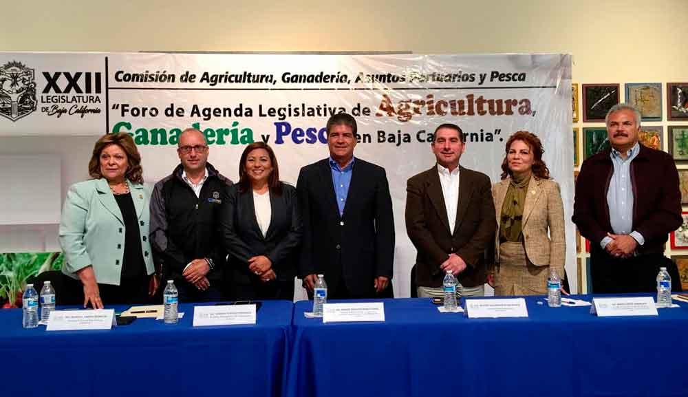 """Inauguran """"Foro para el Fortalecimiento de la Agenda Legislativa para el Impulso de la Agricultura, Ganadería y Pesca en BC"""""""
