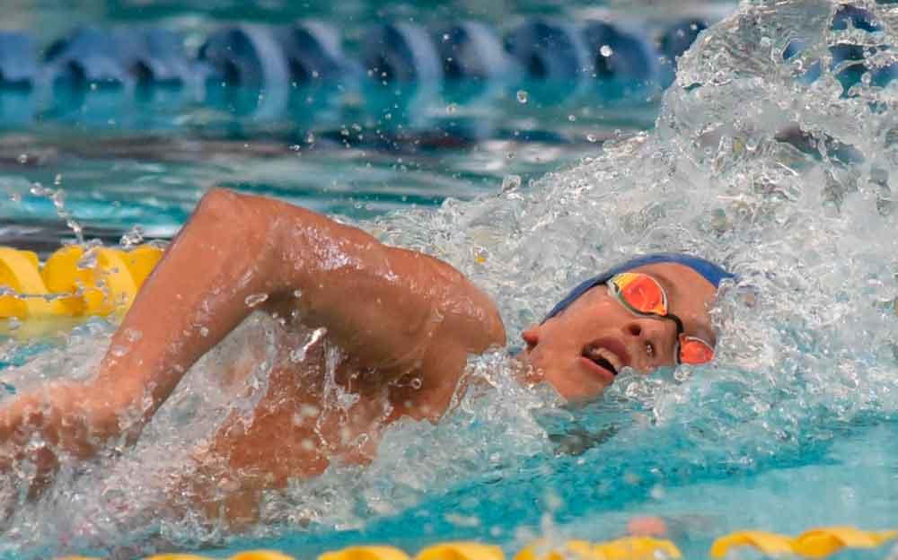 Conquista Baja California cuatro medallas de oro en natación