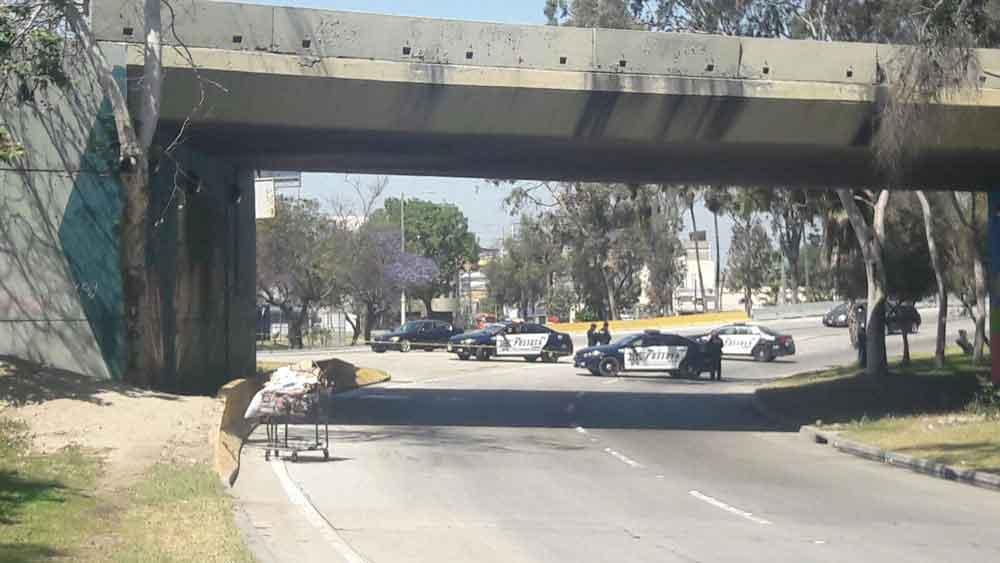 Localizan cuerpo descuartizado en carrito de mandado en Tijuana