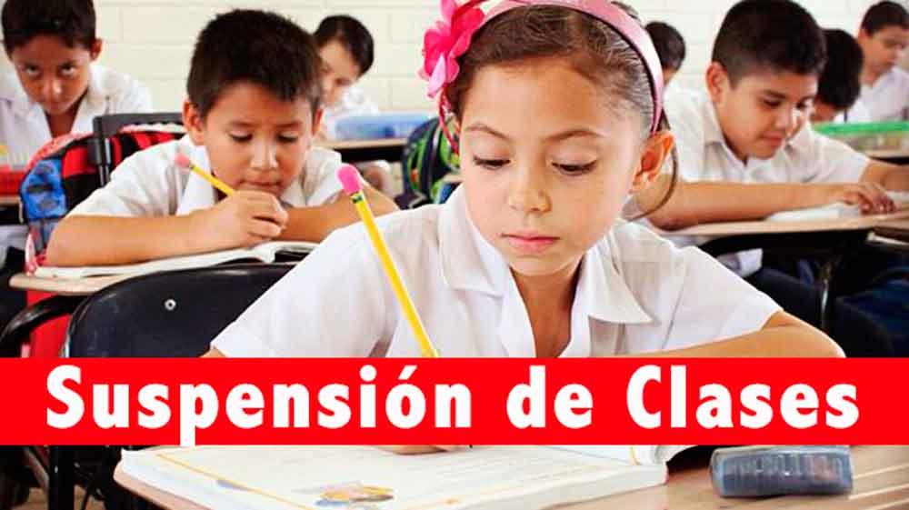Este martes habrá suspensión de clases en Baja California