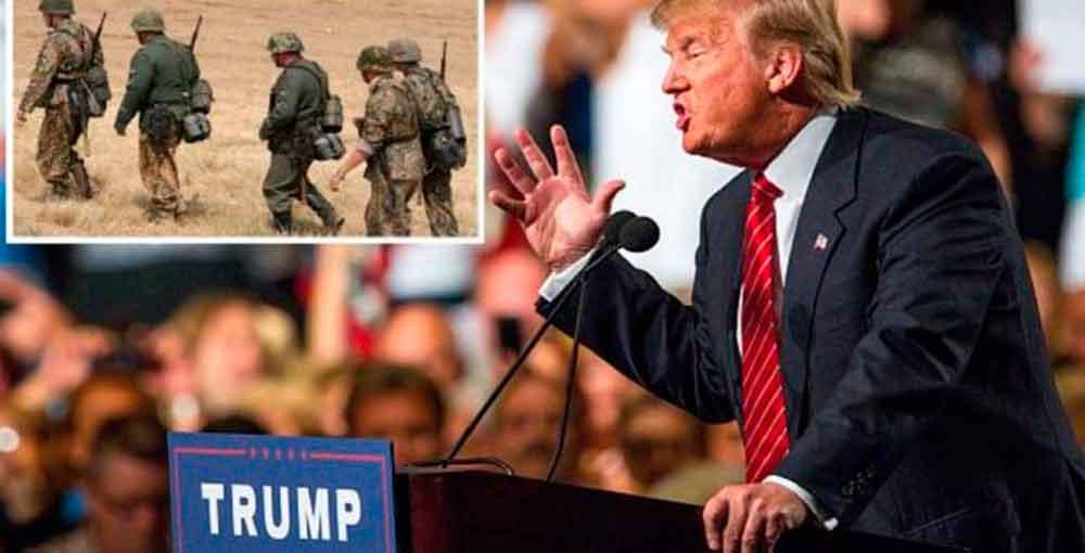 Trump analiza enviar 3 mil soldados más a Afganistán