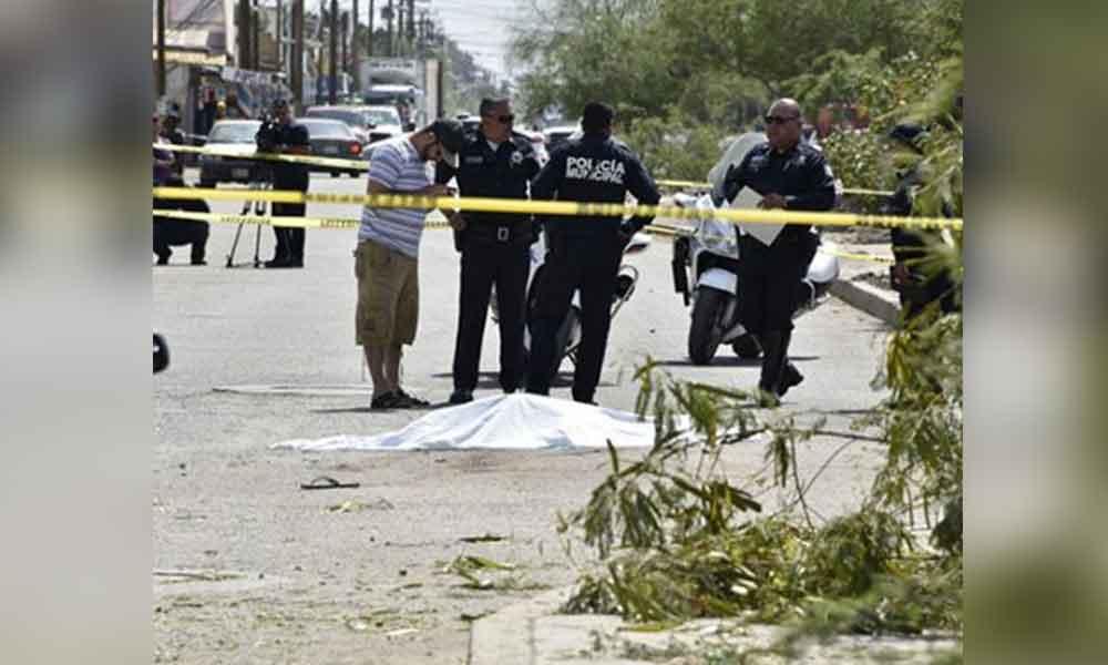 Madre e hijo son atropellados en Mexicali