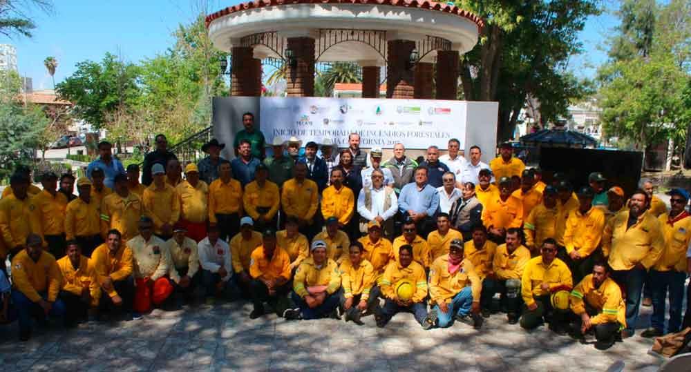 Inicia temporada de prevención y combate de incendios forestales