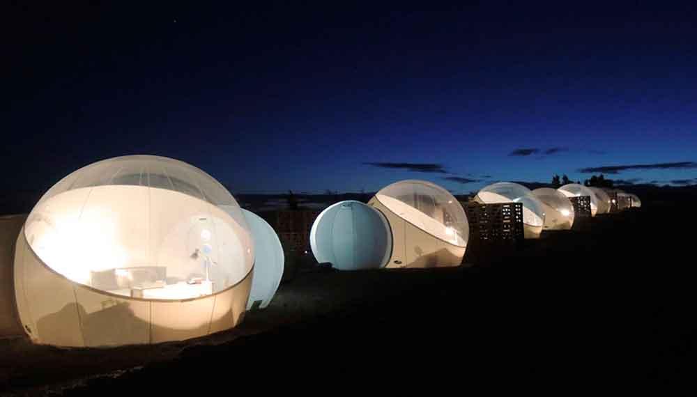 Conoce el hotel burbuja de el Valle de Guadalupe