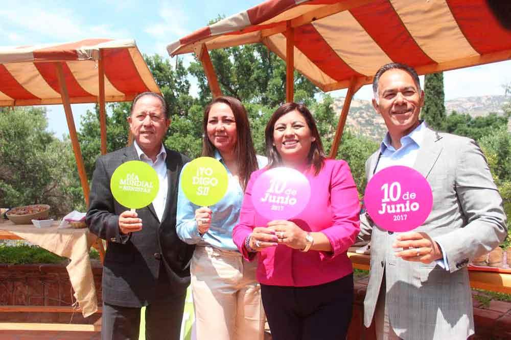 Todo listo en Tecate para el Día Mundial del Bienestar