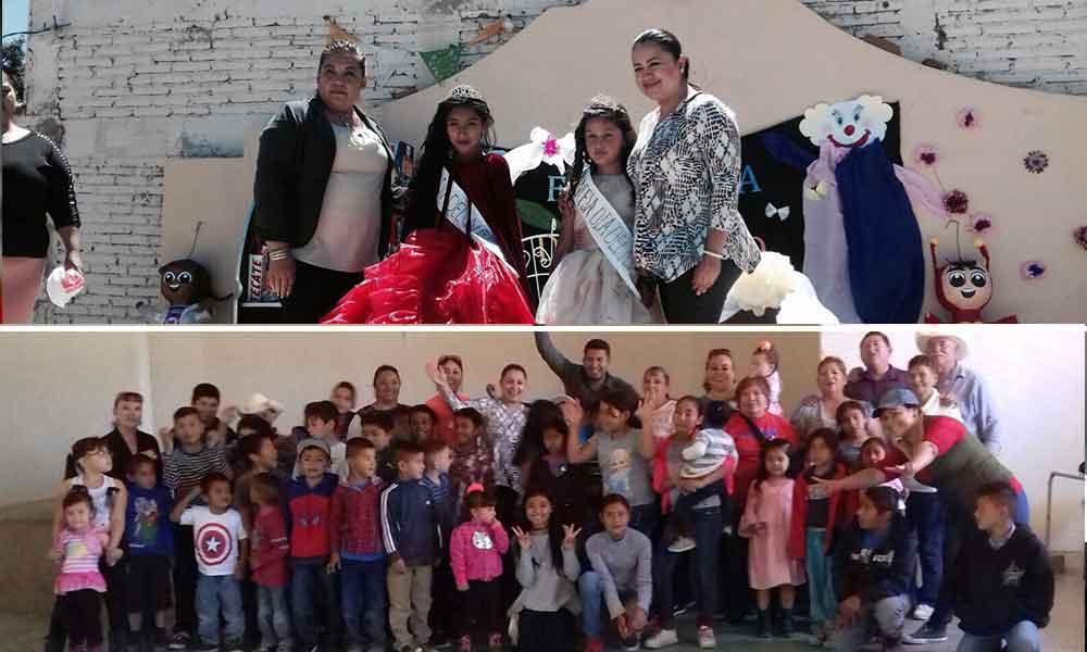 Festeja Gobierno Municipal el Día del niño en la zona rural