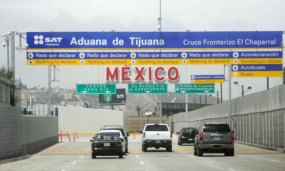 La aduana de Tijuana será la primera a nivel nacional en modernizar y automatizar los procesos de cruce