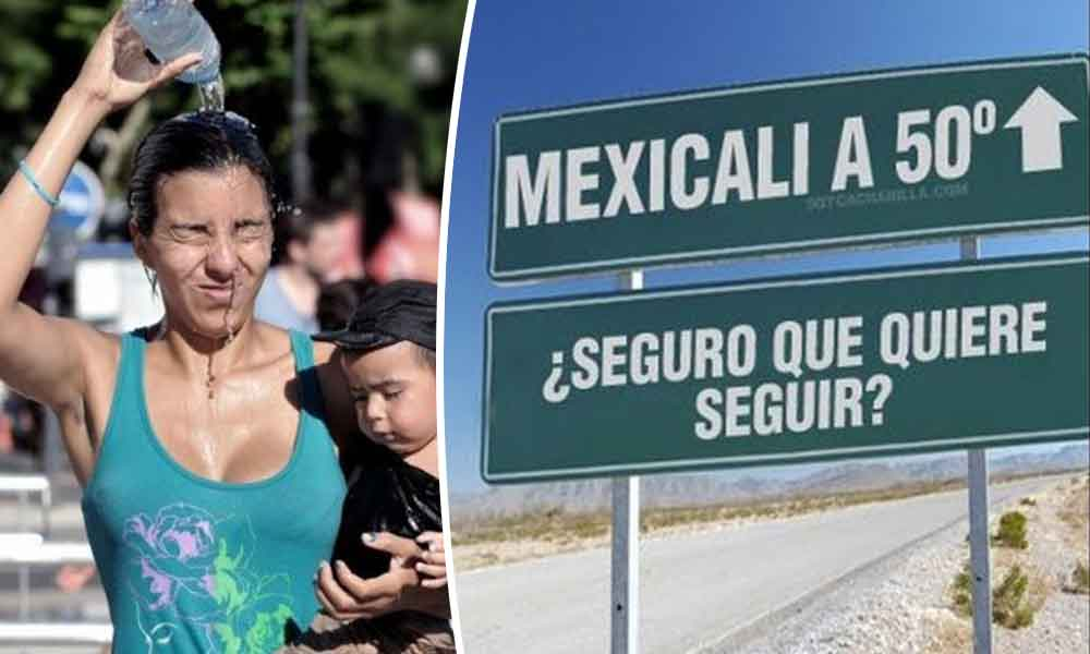 Próxima semana será muy calurosa en Baja California