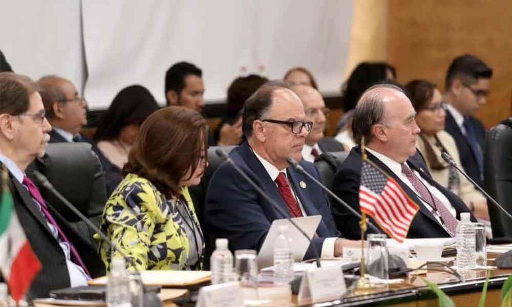 Aborda Dip. Alfredo Ferreiro temas binacionales durante Reunión Interparlamentaria México-Estados Unidos