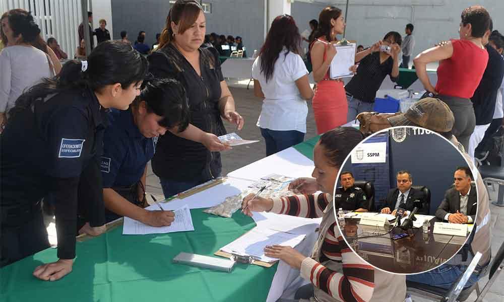 Feria de la salud a beneficio de policias y bomberos de Tijuana