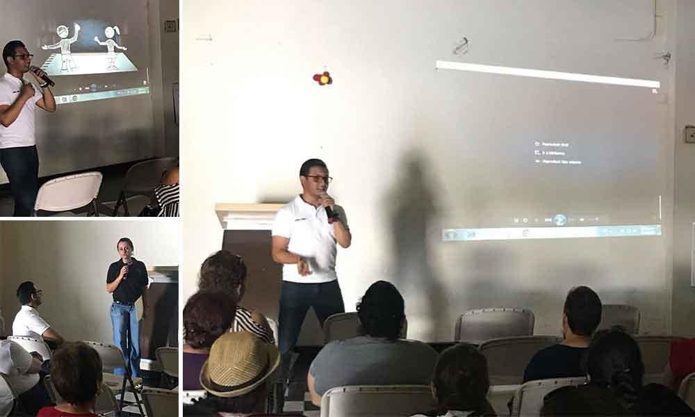 Diputado Benja Gómez y No Más Cuartos Vacíos brindan plática sobre la trata de personas en Tecate