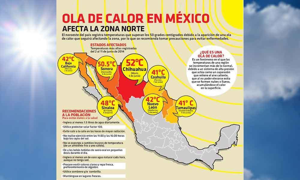 Altas temperaturas para Tecate, Protección Civil emite recomendaciones