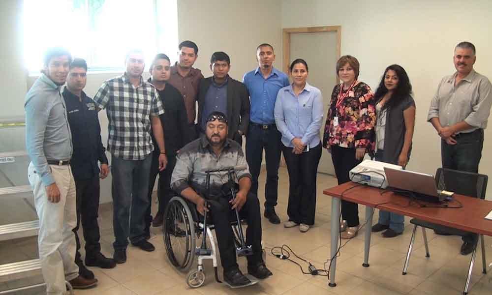 Alumnos de UABC Tecate crean prototipos para personas con discapacidad