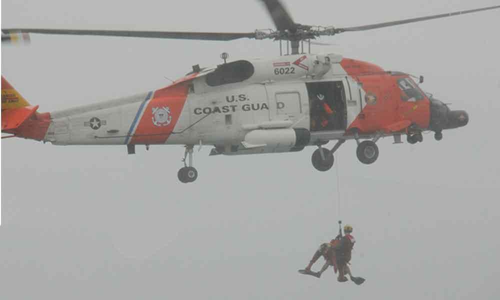 Simulan México y EU búsqueda y rescate, en Baja California