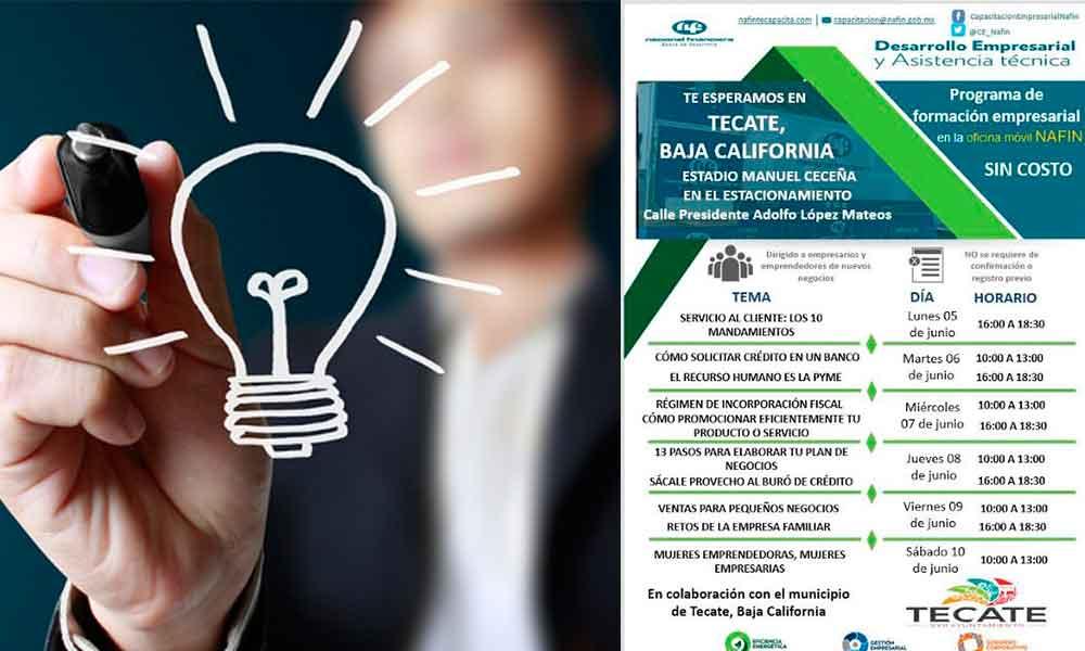 En Tecate se va a realizar la Semana del Emprendedor