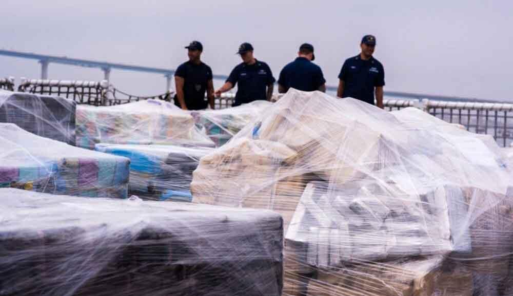 Descargan 18 toneladas de cocaína en San Diego