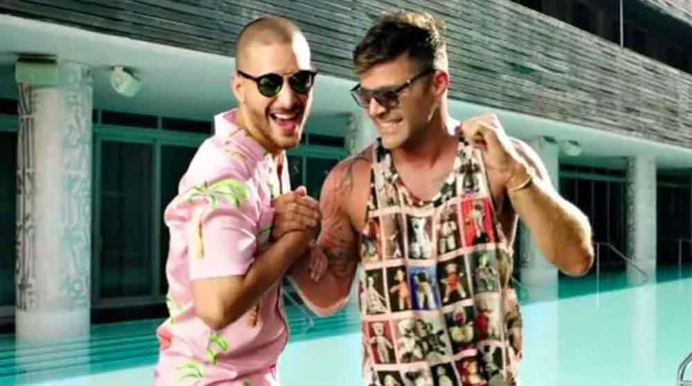 Filtran supuesto video sexual de Maluma con Ricky Martin