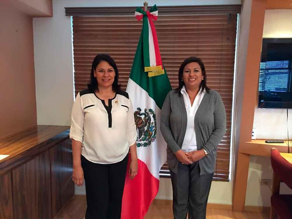 Se reúne Alcaldesa y Diputada Federal para revisar temas de Tecate