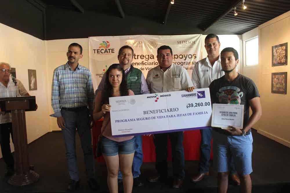 Inversión histórica en apoyo a madres jefas de familia en Tecate