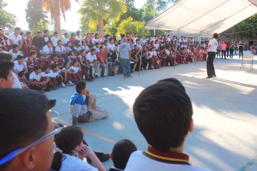 """Imjuvet y Policía Federal presentaron el programa """"Estudiantes por la   Seguridad"""""""